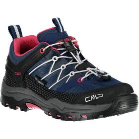 CMP Campagnolo Rigel WP Chaussures de trekking basses Enfant, marine-corallo